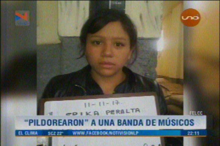 MUSICOS VICTIMAS PILDORITAS EN LA PAZ