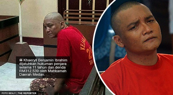 'Kau Yang Pilih Jalan Ini Ben..' - Reaksi Netizen Selepas Benjy Dijatuhkan Hukuman Penjara 11 Tahun Dan Denda RM312,539