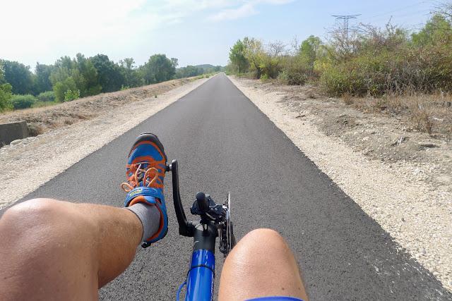 De Paris à Narbonne en vélo, pistes cyclables