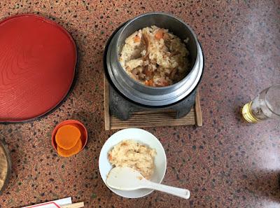 山乃湯の釜飯