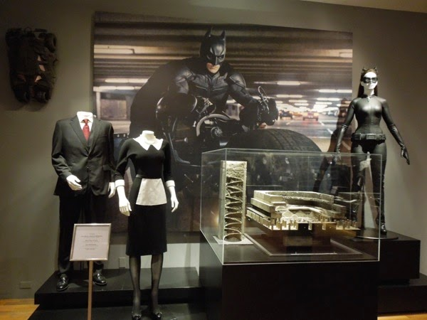 Dark Knight Rises film costumes and props