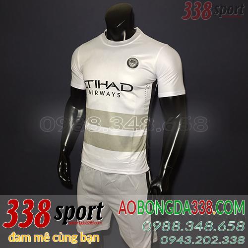 áo man city trắng training sân khách