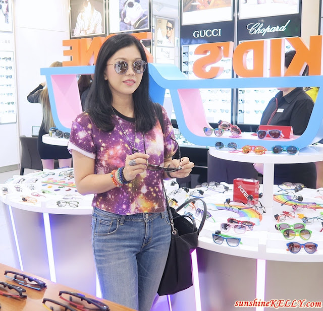 Hunting for Sunglasses at Focus Point Concept Store Grand Opening, Melawati Mall, Kuala Lumpur
