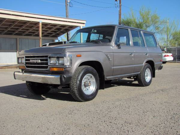 Good SUV, 1988 Toyota Land Cruiser FJ62