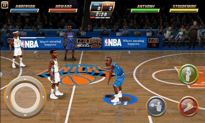 NBA Jam Basketball Game