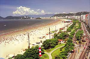 Praias - Santos, São Paulo