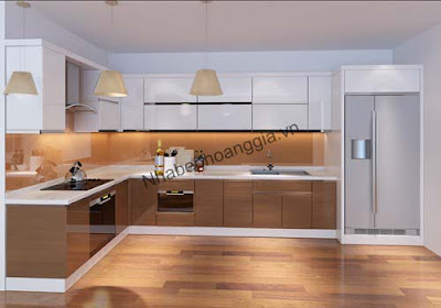 Các mẫu tủ bếp đẹp cho căn bếp hiện đại