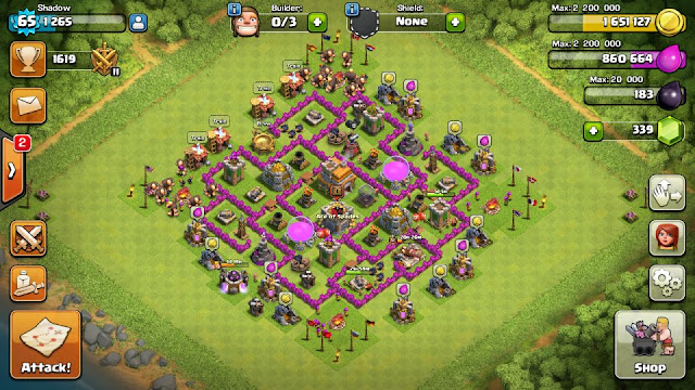 omg th7 farming base layout design