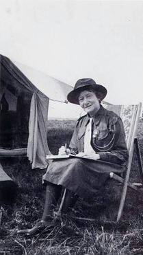 Co-founder, first Presiden of the Girl Guides and Scouts Movement, Vice President AGG UK