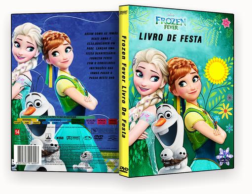 Frozen Fever Livro De Festa 2017 Dublado – ISO