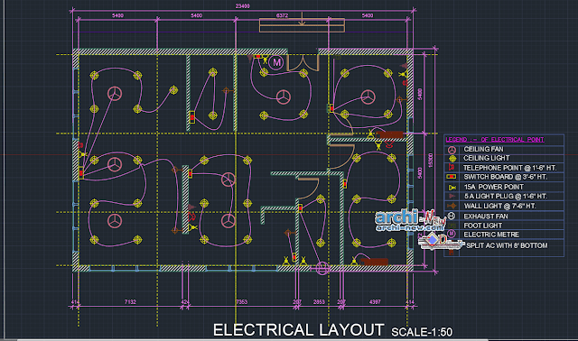 Plan Electrical editier Dwg