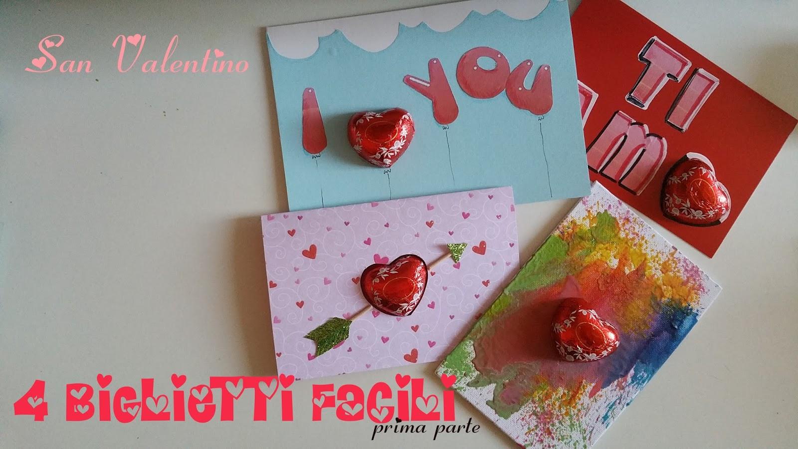 Vivi con letizia feste 4 biglietti auguri facili per - Decorazioni san valentino fai da te ...