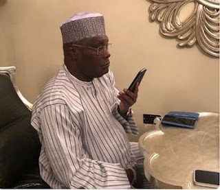 Atiku Receives Phone Call From US Secretary Of State Over Nigeria's Election (See What They Said)