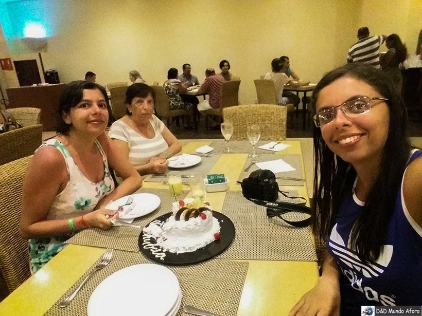 Festa surpresa no aniversário de Danubia - Costa do Sauípe - Resorts all inclusive na Bahia
