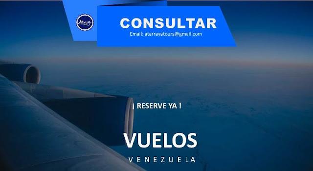 imagen Vuelos nacionales Venezuela