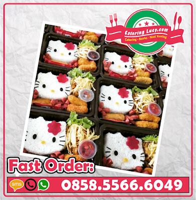 Nasi Bento Hello Kitty Purwokerto