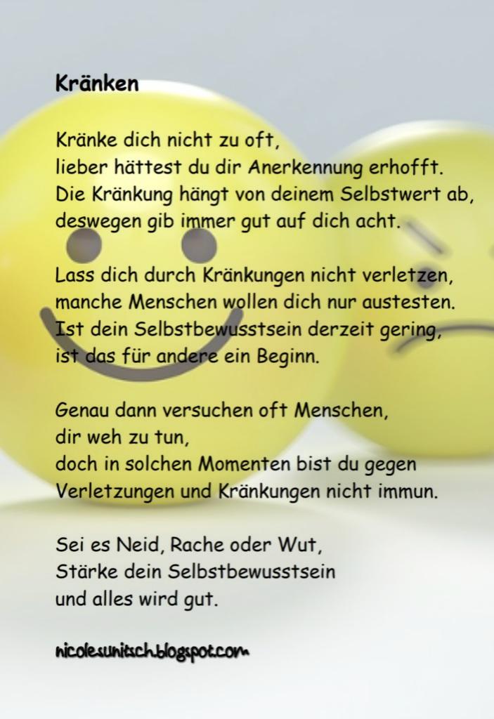 Gedichte Von Nicole Sunitsch Autorin Gedichte Kranken Aus