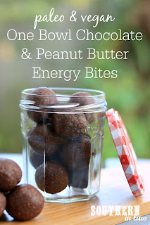 One Bowl Chocolate Peanut Butter Bliss Ball Recipe without Food Processor