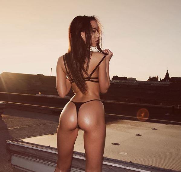 Hot girls Mary Anna sexy bra model from England 4