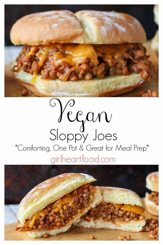 A twist on a classic, these Vegan Sloppy Joes will knock your socks off! Loaded with lentils, a soy based crumble and spices, this one pot comfort food meal will satisfy the hunger bug every time!
