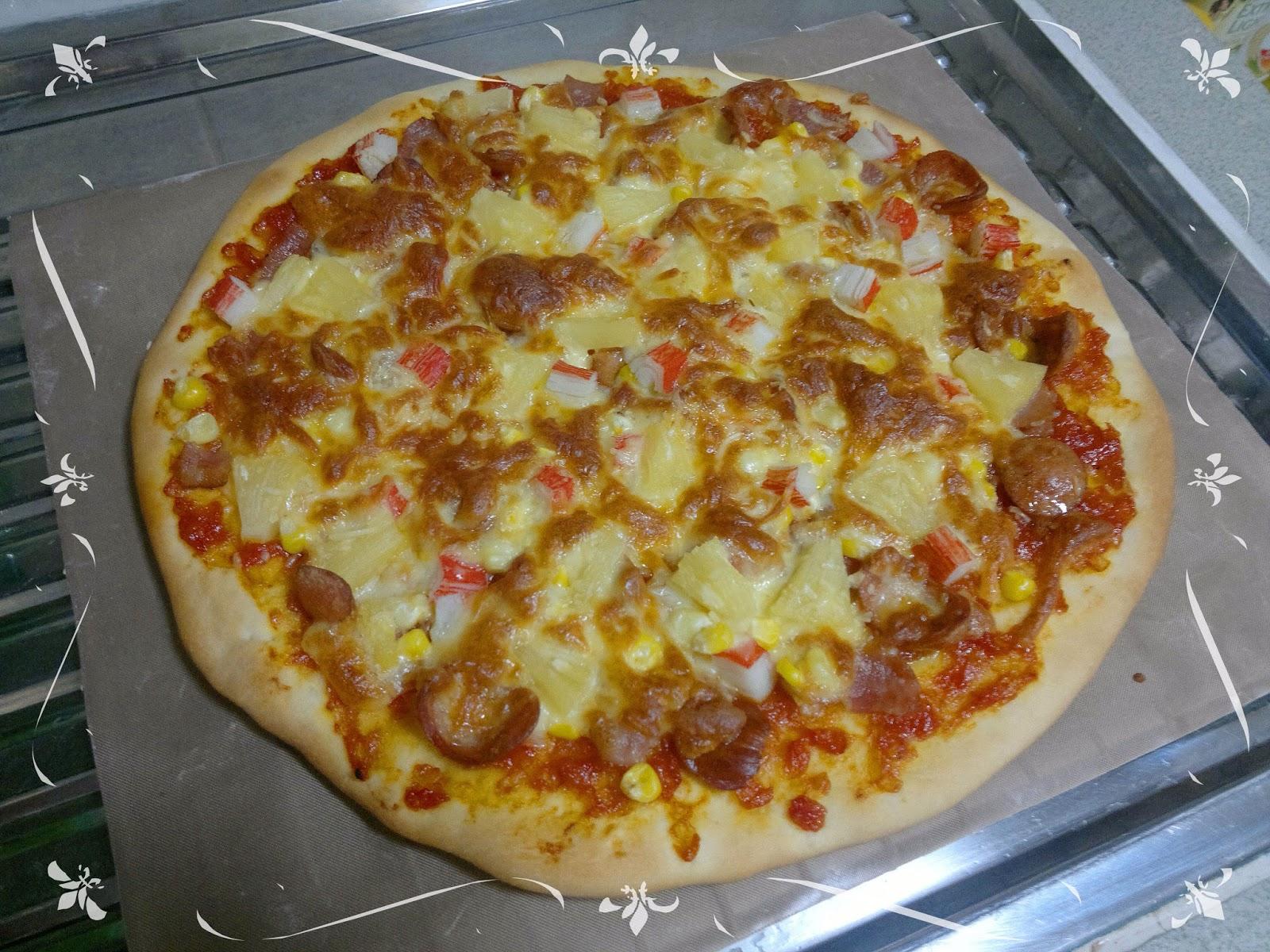 美味食譜-由玲開始: 夏威夷pizza