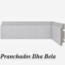 Rodapé de Poliestireno Santa Luzia 462 Branco