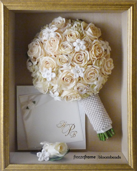Frame Your Wedding Flowers Framed Wedding Flowers
