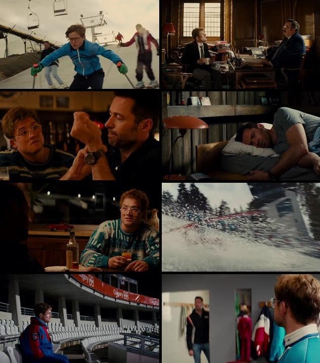 Eddie The Eagle 2016 Dual Audio Hindi 720p BluRay