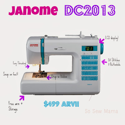 Janome DC2013 $500 Sewing Machine