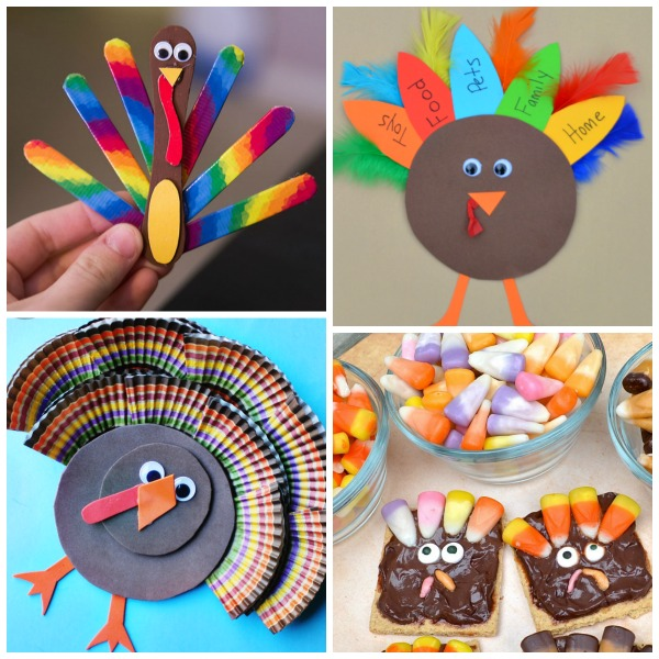 36 ADORABLE THANKSGIVING CRAFTS FOR KIDS So Many Fun Ideas