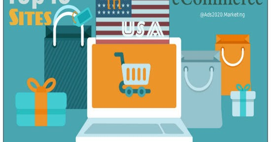 What are 10 best ecommerce shopping sites in usa to buy for Best websites to online shop