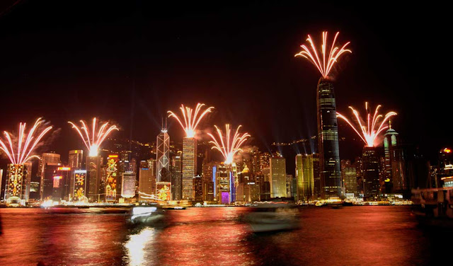 Hong Kong New Years eve