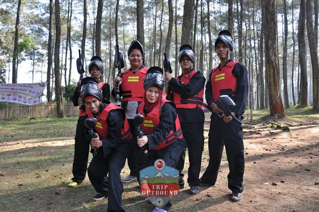 Paket Paintball Bandung - Trip outbound Lembang Bandung