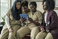 Vicky Jeudy, Adrienne C. Moore, Danielle Brooks and Amanda Stephen in Orange is the New Black Season 5 (9)