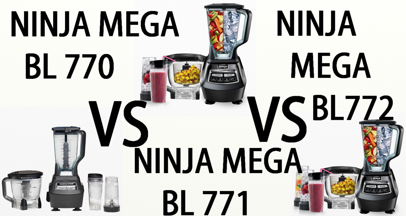 Vegan Kitchen Appliances: Ninja Mega Kitchen System 770 vs ...