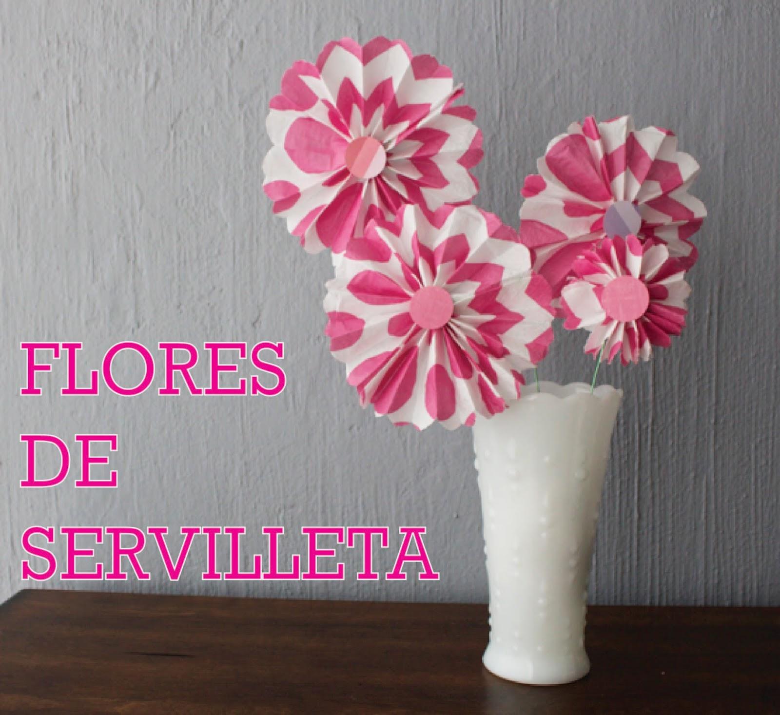 Flores con servilleta de papel los versos y reversos - Productos de madera para manualidades ...