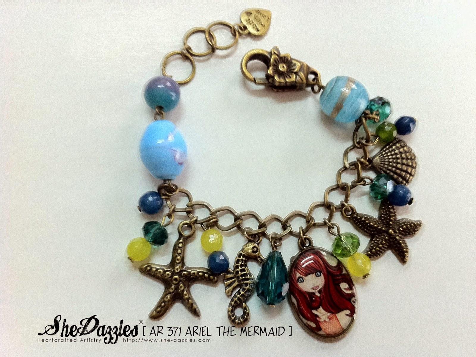 ocean-theme-mermaid-charm-bracelet-malaysia
