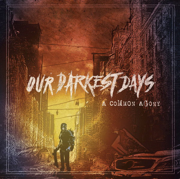 "Our Darkest Days release video for ""The Burden Of My Sins"" (feat. Michel Garcia from Forus)"