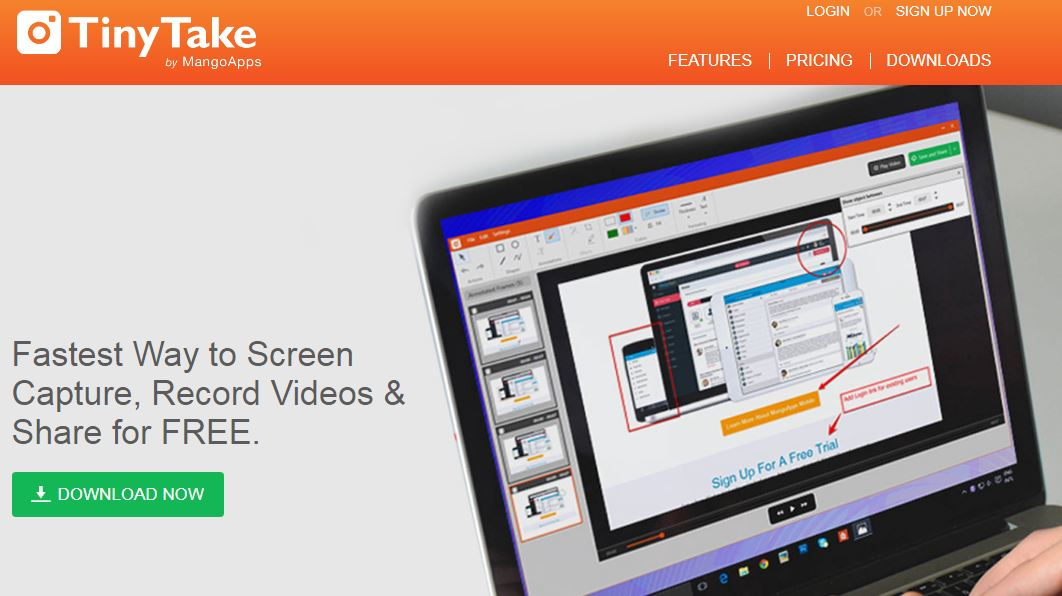Free Screen Recorder software in PC - Technology, Software & Games