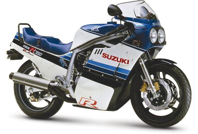 Suzuki GSX-R750 1980s Japanese superbike