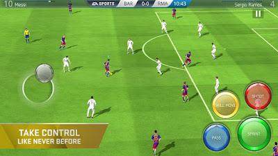 Tampilan Game FIFA 16 Soccer