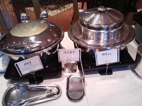 ビュッフェコーナー:パスタ・カレー オーセントホテル小樽カサブランカ