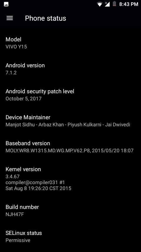 AOSP_JDCT-N-7 1 2-MT6582-3 4 67 FOR VIVO-Y15 BY MANJUNATH YASHU