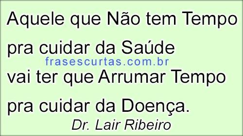 frases de Lair Ribeiro