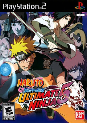 Download Download Game ISO Naruto Shippuden – Ultimate Ninja 5 PS 2 – EMULATOR GAMES