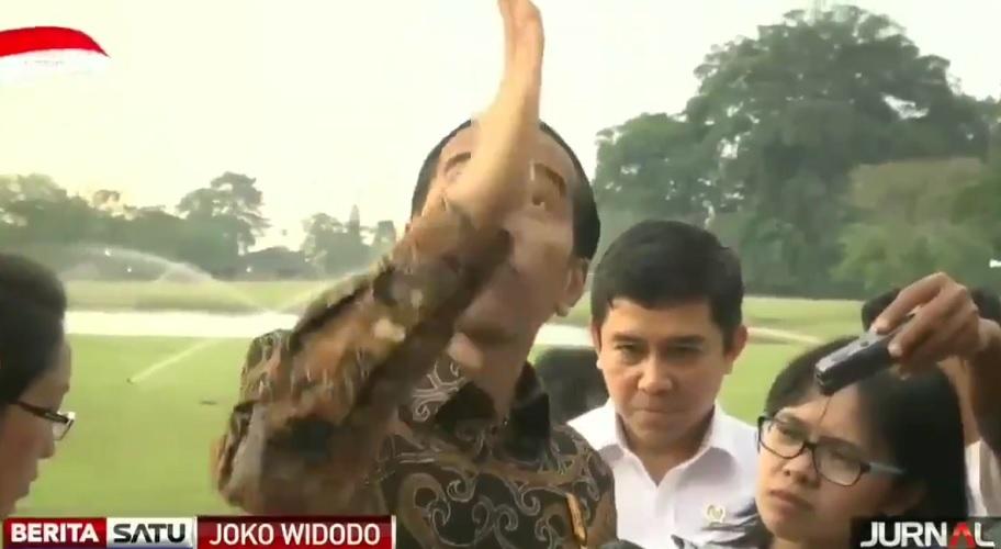 Jokowi meroket