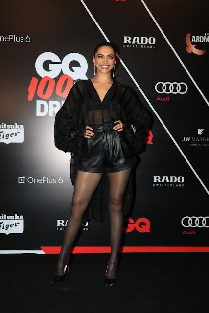 Deepika Padukone at GQ Best Dressed 2018
