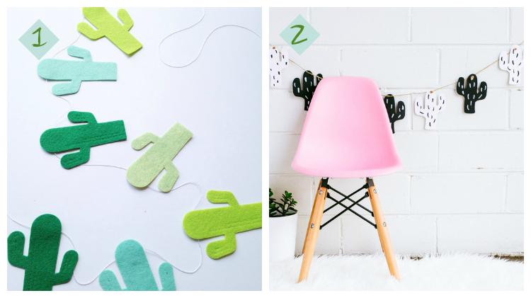 Diys de cactus /diys con cactus by Habitan2, decoración´n handmade para hogar y eventos / Deco low cost