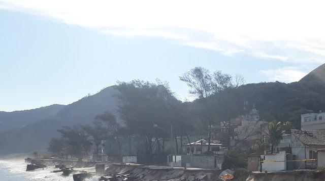 Impactos da Erosão na Praia da Macumba no Rio de Janeiro | Textos para aulas de Ciências