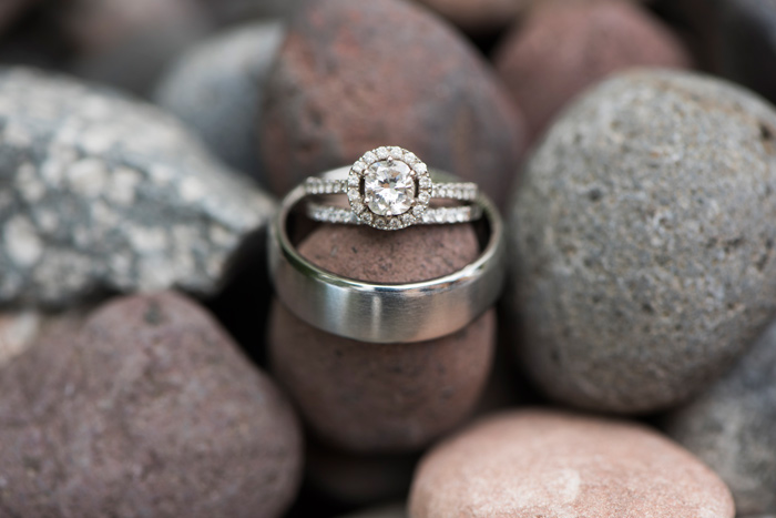 Wedding Rings / Jessie Moore Photography